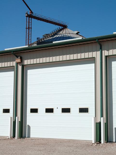 C.H.I. Commercial Garage Door Micro-Grooved Sandwich & CHI Commercial Garage Door Model 3285