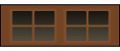 Clopay Wood Garage Door Model 20 Glass Insert Stockton Short